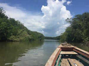Tilapa boat ride to Tilapita